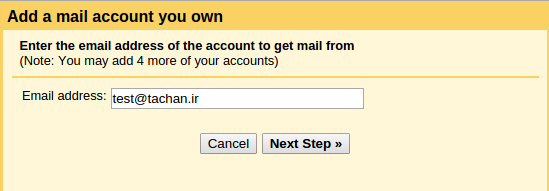 How add pop3 account to gmail_1