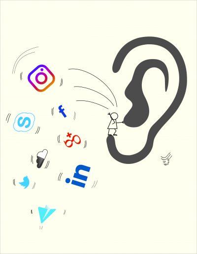 کاریکاتور- معایت شبکههای اجتماعی