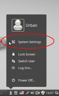 How change keyboard Layouts in linux mint